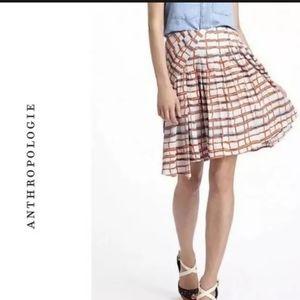 Maeve asymmetrical skirt window pane size 2